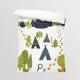 Fabric Bedding/Blanket Panel Little Explorer 2