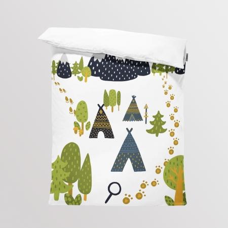 Tkanina Panel na Kocyk/Pościel  Little Explorer 2