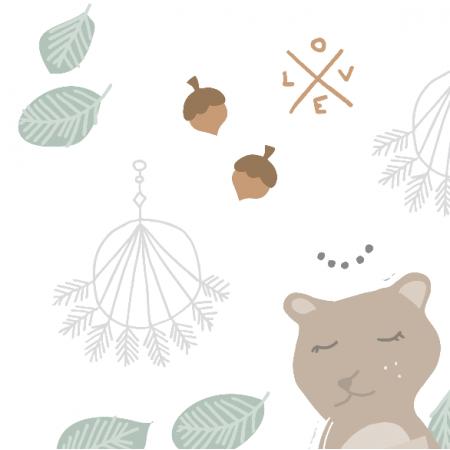 Fabric 13088 | Pastelowe boho11