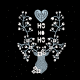 Tkanina 13110 | Skandynawskie święta