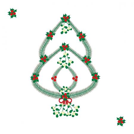Tkanina 13143 | Christmas tree