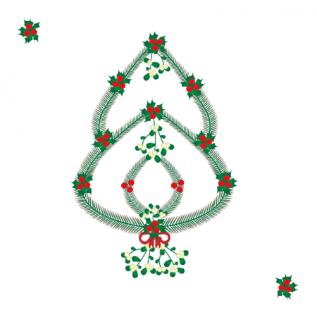 Fabric 13143 | Christmas tree