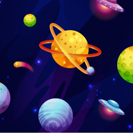 Tkanina 13147 | 015-Kosmos