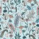 Tkanina 13153 | botanical adventure blue