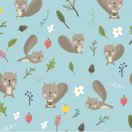Fabric 13198 | Wiewiórki