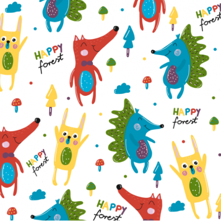 Fabric 13240 | Happy Forest