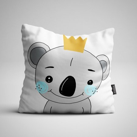 Fabric Pillow panel Koala Boy