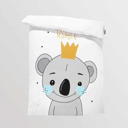 Fabric Bedding/Blanket Koala Boy