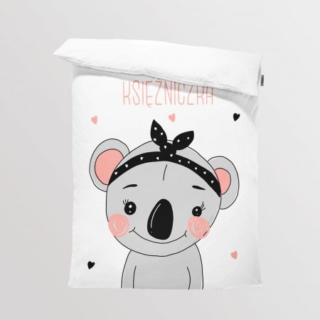 Fabric Bedding/Blanket Koala Girl