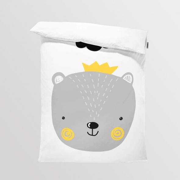 Fabric Bedding/Blanket Bear Boy