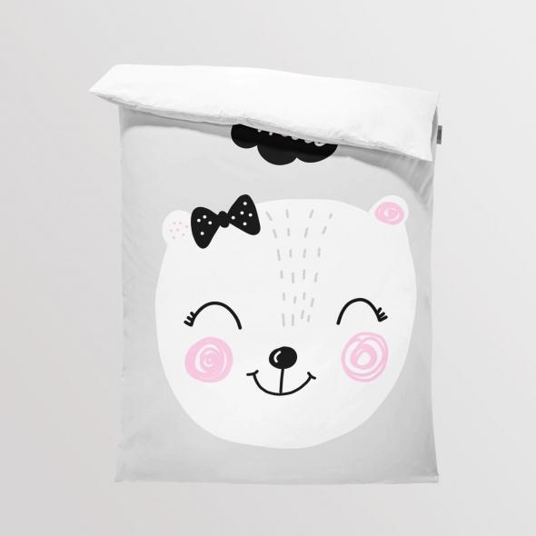 Fabric Bedding/Blanket Bear Girl