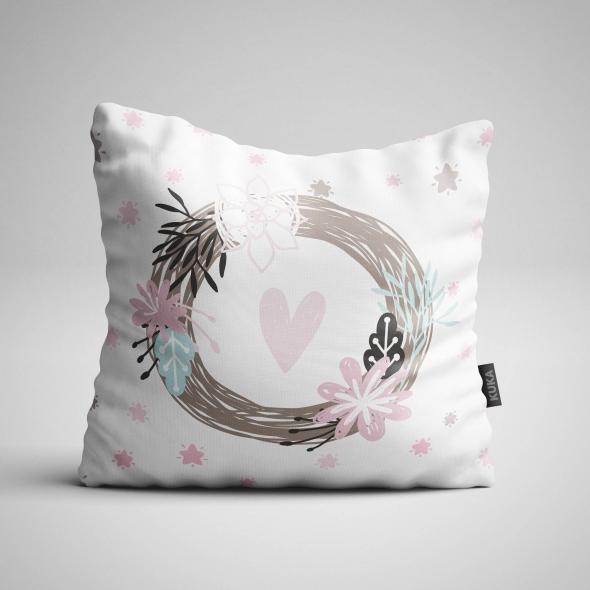 Fabric Pillow panel Magical Unicorn