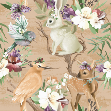 Fabric 13328 | whimsical forest
