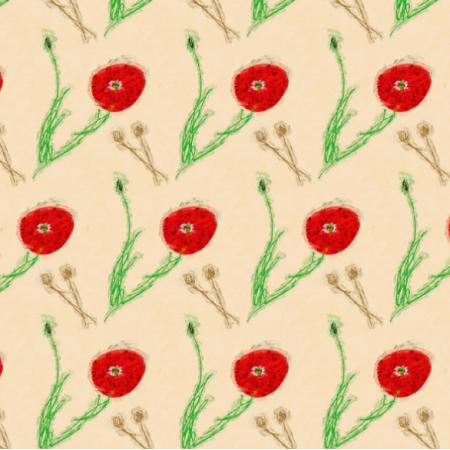 Fabric 13361 | poppy