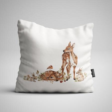 Pillow panel Roe-Deer - Light