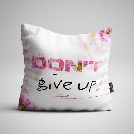 Pillow panel Don't give up