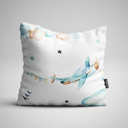 Fabric Pillow panel Boys World