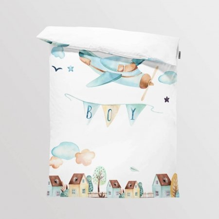 Fabric Bedding/Blanket Panel Boys World