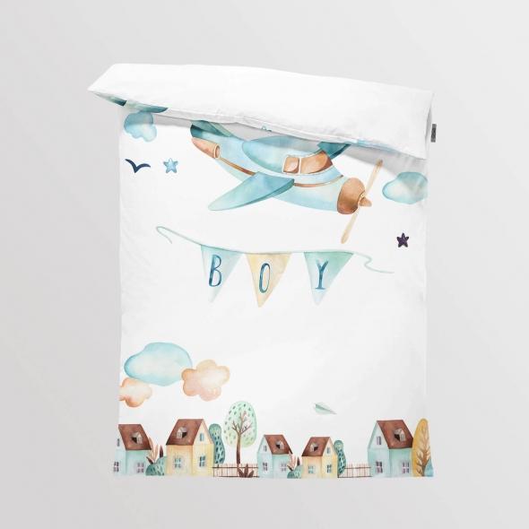 Fabric Bedding/Blanket Panel Boys World