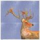 Tkanina Panel poduszka Jeans Deer