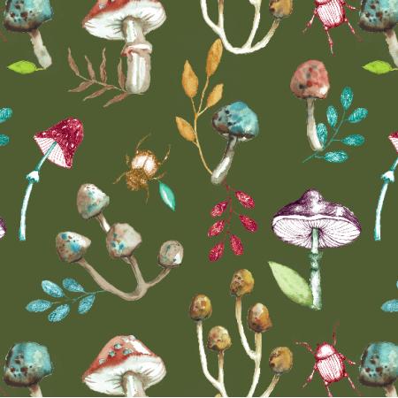 Fabric 13625 | Grzybki5