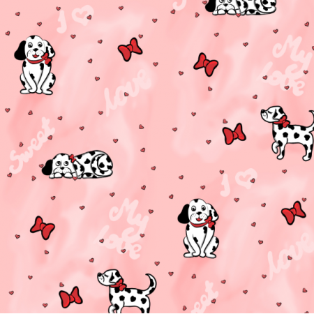 Fabric 13644 | Spotted love