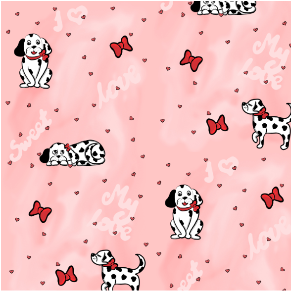 Fabric 13644   Spotted love