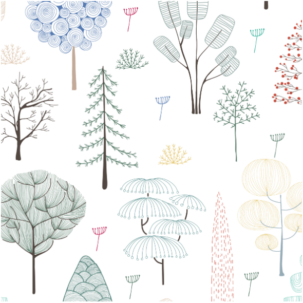 Fabric 13729   018-1-Forest-day
