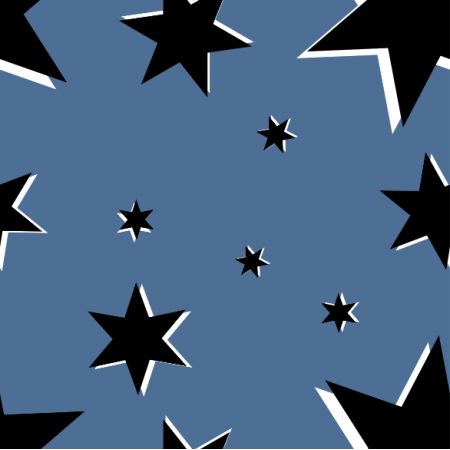 Fabric 13848 | Stars on Brittany Blue