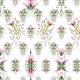 Fabric 13949 | Kwiatowe inspiracje - seria 1