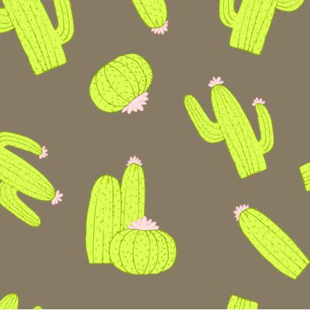 Fabric 13986 | kaktusy