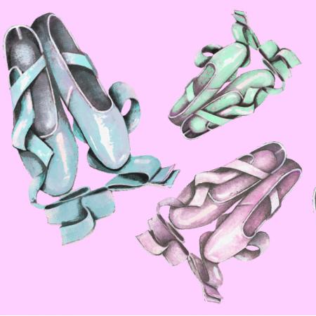 Fabric 13999 | baletki be gentle pink0