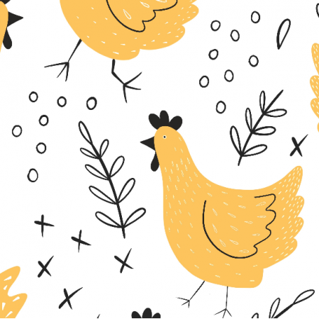 14019 | kury - wersja żółta