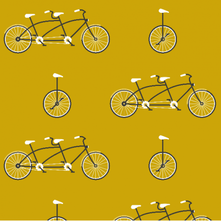 14047 | Mustard bicycles