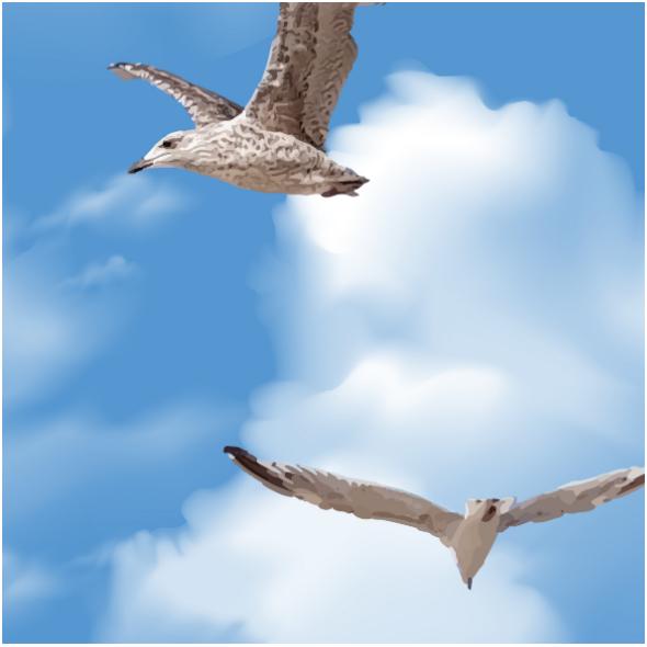 Fabric 14083   024-Seagull
