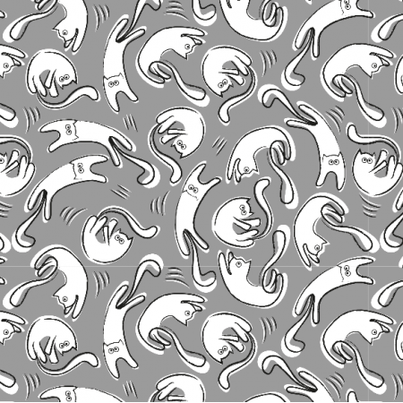 Fabric 14112 | cat's rain