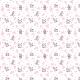 Fabric 14200   Happy cows - white
