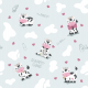 Fabric 14202 | Happy cows - Pastel Mint