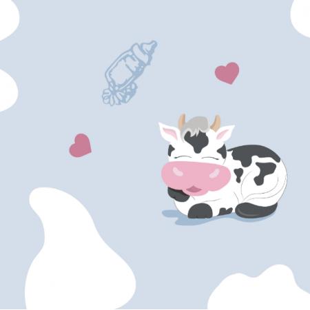 14203   Happy cowS - BLUE
