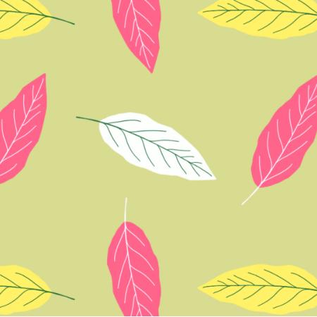 Fabric 14365 | liście