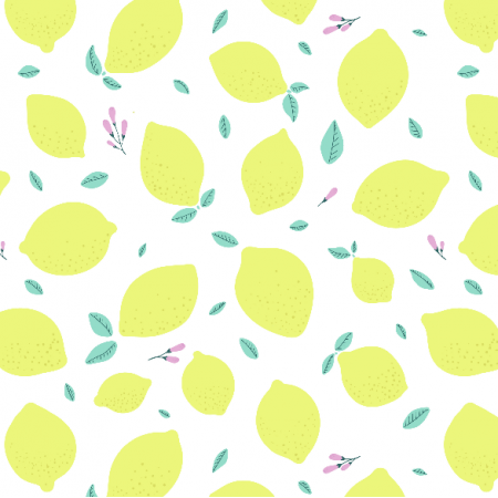 Fabric 14441 | Lemon mood