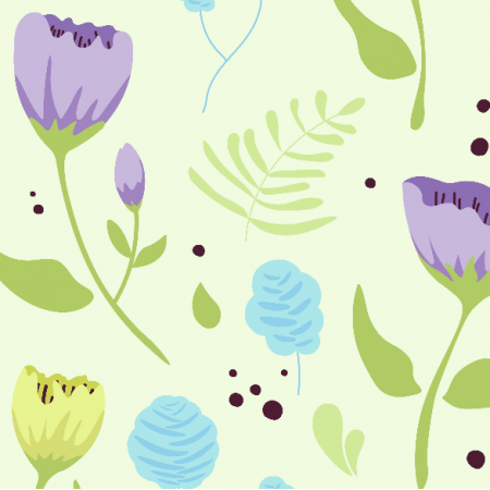 Fabric 14442 | Spring Flowers