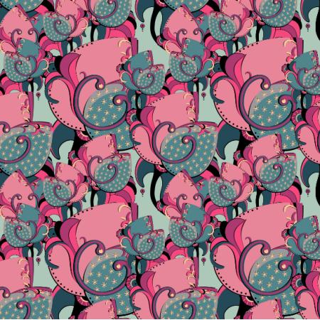 Fabric 14453 | SECRET LETTER