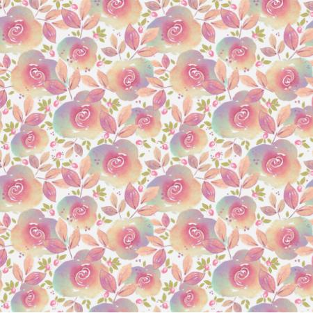 Tkanina 14460 | ROSE GARDEN