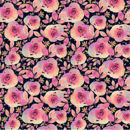 Fabric 14463 | ROSE GARDEN