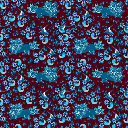 14474 | Blue lion