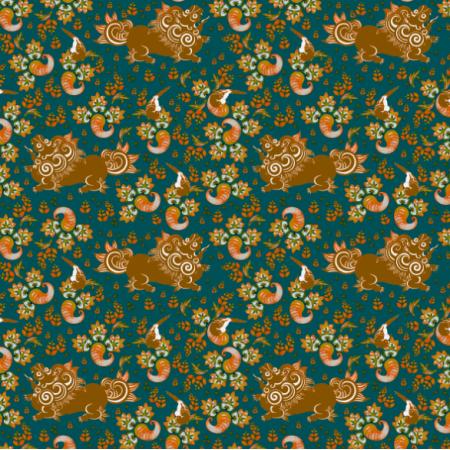 Fabric 14475 | lion