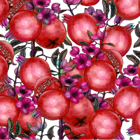 Fabric 14480 | Pomegranate