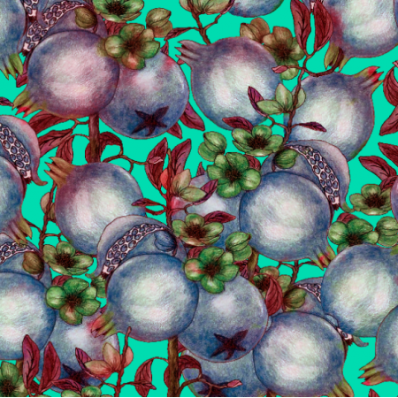 Fabric 14488 | Pomegranate