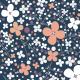 Fabric 14520   Łąkowe kwiaty kaori